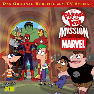 Hörbuch Cover: Disney - Phineas und Ferb: Mission Marvel (Download)