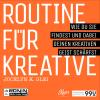Hörbuch Cover: Routine für Kreative (Download)